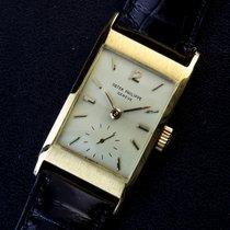 Patek Philippe Rare Vintage Ref.2461 18K Yellow Gold Curved...