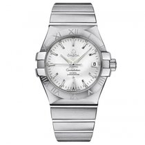 Omega Constellation Steel Silver Dial 123.10.35.20.02.001 Mens...