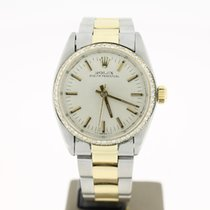 Rolex Oyster Perpertual Steel/Gold Silver Aftersetting...