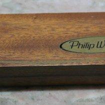Philip Watch vintage wooden watch box rare