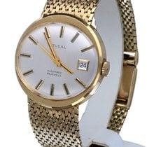 Tusal Vintage Dresswatch Yellow Gold 14 krt