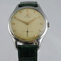Omega Oversized 38mm Jumbo 2505 with Honeycomb Dial from 1952