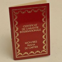 Cartier International Guarantee Certificate Booklet