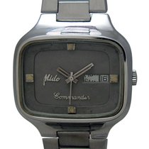 Mido COMMANDER DAY DATE AUTOMATIC ANTIQUE WRIST WATCH