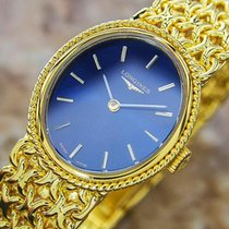 Longines Rare Ladies Gold Plated Luxury Manual Dress Watch...