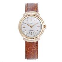 百達翡麗 (Patek Philippe) Vintage  Tri Color Hooded Lug Watch