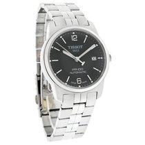 Tissot PR 100 Mens Black Dial Swiss Automatic Dress Watch...