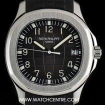 Patek Philippe S/Steel Black Dial Jumbo Aquanaut Gents B&P...