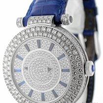 Franck Muller Double Mystery Dial 18K White Gold & Diamond...