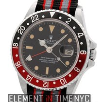 Rolex GMT-Master II Fat Lady Stainless Steel T Swiss Patina Dial