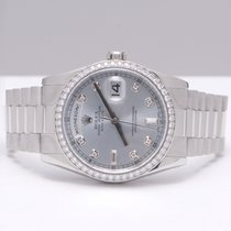 Rolex Day-Date Platinum Diamonds