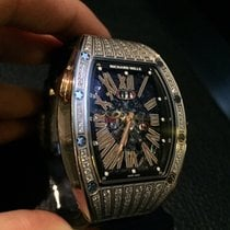 Richard Mille [NEW & RARE] RM 037 White Gold Ladies MDDS...