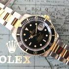 Rolex Submariner Gold&Steel black tritum dial Box&a...