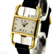 Baume & Mercier Etrier LADY CAR DRIVER 18k Yellow Gold...