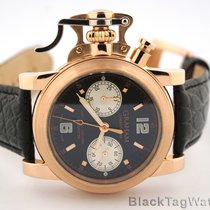 Graham Chronofighter Oversize 43mm 18k Rose Gold 2CFAR
