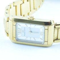 Maurice Lacroix Damen Uhr 24mm Stahl/stahl Quartz Mit Orig....