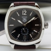 TAG Heuer WR2110.FC6164 Monza Automatic SS Black Dial (25175)