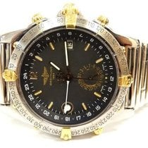 Breitling Duograph B15507 GMTG-s Watch18k/st.steel,Rouleaux...