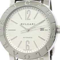 Bulgari Polished  - Steel Automatic Mens Watch Bb42sl Auto...