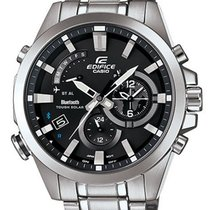 Casio Edifice Tough Solar - Mobile Link Function - Stainless...