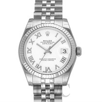 Rolex Datejust Lady 31 mm White/Steel Ø31 mm - 178274