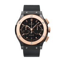Hublot Classic Fusion Ceramic King Gold Chronograph
