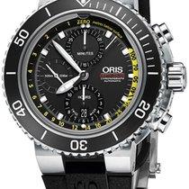 Oris AQUIS DEPTH GAUGE CHRONOGRAPH - 100 % NEW - FREE SHIPPING