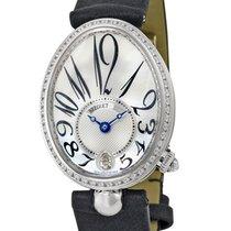 Breguet [NEW] Reine De Naples Mother of Pearl Dial WG Diamond