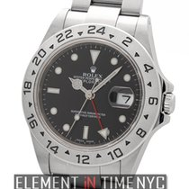 Rolex Explorer II Stainless Steel Black Dial 40mm  Ref. 16570