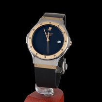Hublot classic steel and gold quartz men size