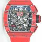 Richard Mille RM011 NTPT Quartz red,limited 50pc,unworn