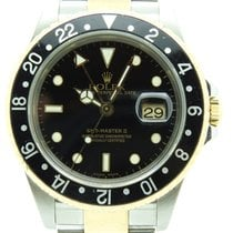 Rolex GMT Master II Steel & Gold