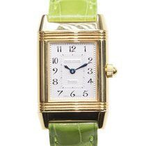 Jaeger-LeCoultre New  Reverso 18 K Yellow Gold Silvery White...
