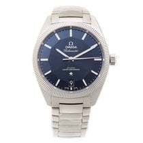 Omega Constellation Stainless Steel Blue Automatic 130.30.39.2...