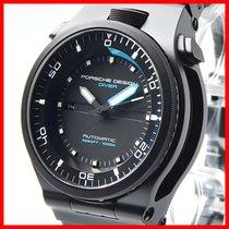 Porsche Design P6780  Diver DLC black NEU + orig. Porsche D. ...
