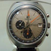Tissot Navigator automatic vintage chronograph cal Lemania