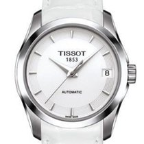 Tissot Couturier Automatic White Dial Ladies Watch T0352071601100
