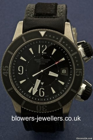 Jaeger-LeCoultre Master Compressor Diving Alarm Navy SEALs 160.T.96
