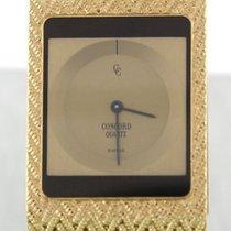 Concord Retro 18k Yellow Gold Woven 25mm MIni Quartz Watch 50.77