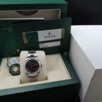 Rolex OYSTER PERPETUAL 177200 with Grape Dial Full Set