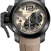 Graham Chronofighter Oversize Chronofighter Oversize Black...