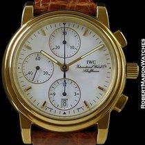 IWC Amalfi 18k New Old Stock Automatic Chronograph