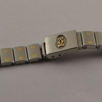 Cartier Santos Stahl Armband Bracelet 14mm Stahl/gold Rar