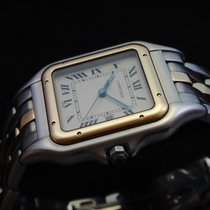 Cartier Steel & 18k Gold Panthere Men's 187957