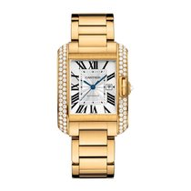 Cartier Tank Francaise Automatic Mens Watch Ref WT100006