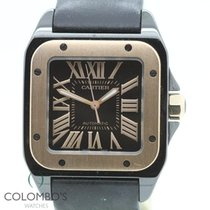 Cartier Santos 100 Medium PVD & Rose Gold