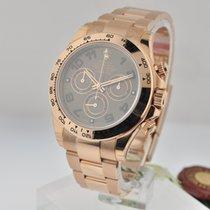 Rolex Daytona Rose Gold Chocolate dial 116505