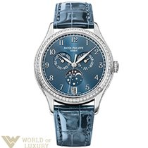 Patek Philippe Complications 38mm White Gold Blue Dial...