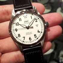 IWC IW327002 Silver-Plated Dial Pilot's Watch Mark XVIII 40mm