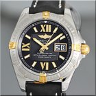 Breitling Windrider Cockpit  Steel/Gold Automatic Mens Watch